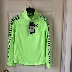NWT - Girl's Under Armour lightweight Pullover Med